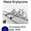 Plakat Gdyńskiej Kolejowej Masy Krytycznej