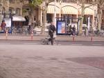 Małe rowery składane to nawet w Holandii rzadkość.