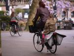 Rower jest na zakupy, do pracy, do szkoły. Czasem jednocześnie.