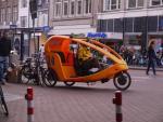 Turystyczna taksówka rowerowa